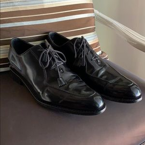 Harris Patent Leather Shoes 9 1/2 Made in Italy